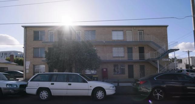 apartamento em rua