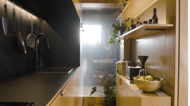 Cozinha de 4 metros de comprimento